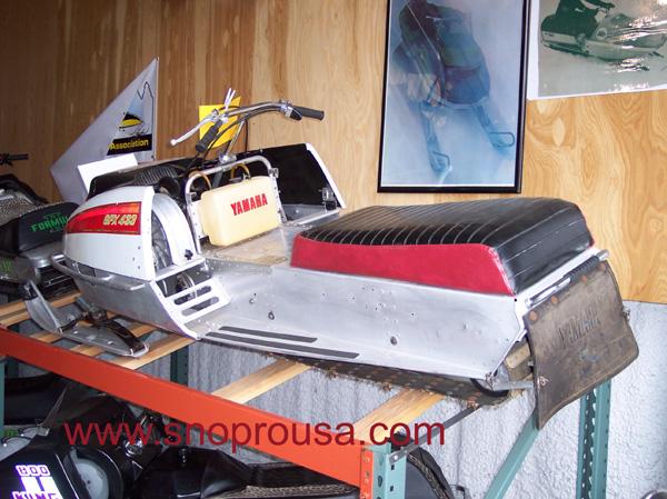 1975 Yamaha GPX 433 PDC Race Sled
