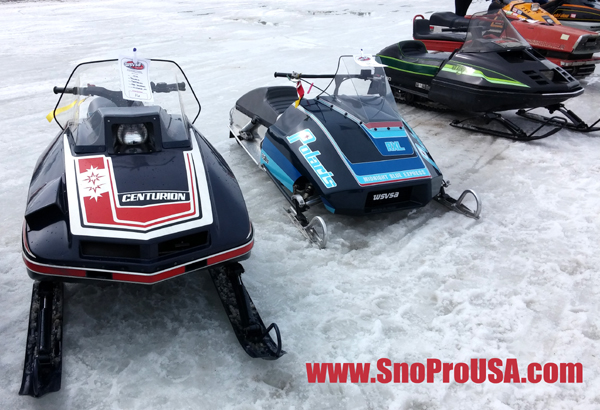 2015 Vintage Snowmobile Round Up West Yellowstone Montana