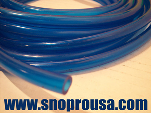 BLUE Fuel Line - 1/4 I.D. & Snowmobile Fuel Line in 7 Different Colors
