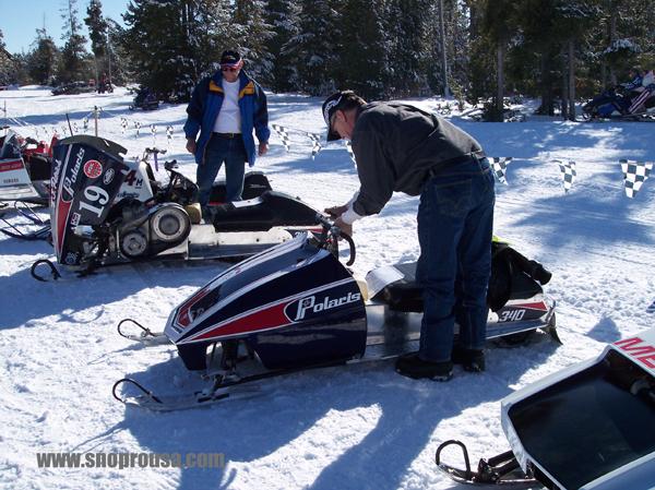 West Yellowstone Snowmobile >> POLARIS RXL FEVER ! 2011 WSVSA Vintage Snowmobile Round UP